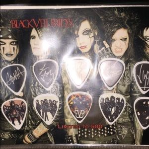 Black Veil Brides collectible guitar picks